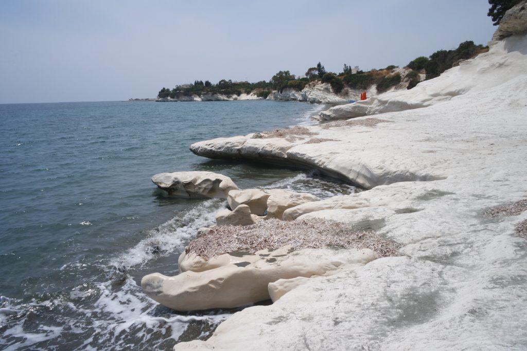 Белые скалы Пафос Кипр
