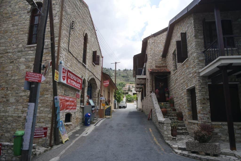 Лефкара серебряная деревня Кипр
